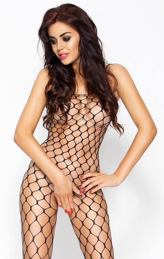 Bodystocking BS 001 Black (Passion) в секс-шопе Jero.kz