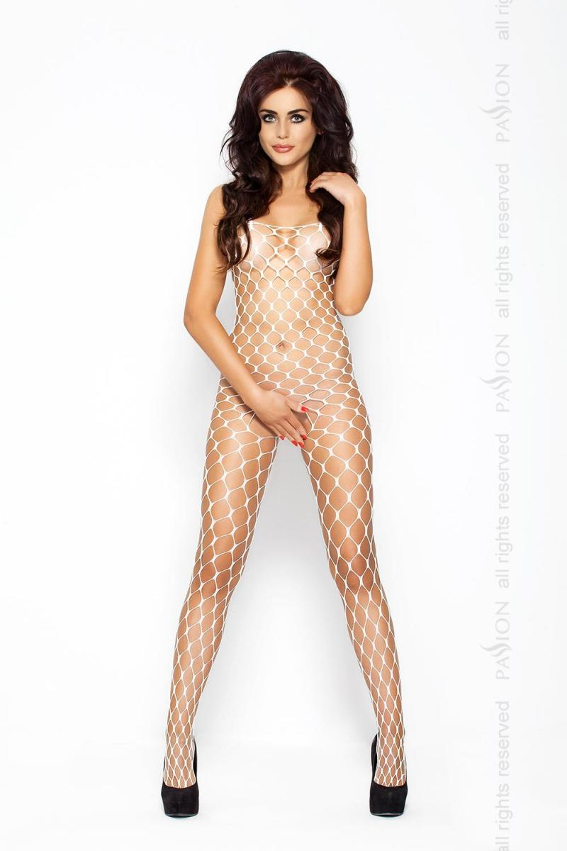Bodystocking BS 001 White (Passion) в секс-шопе Jero.kz